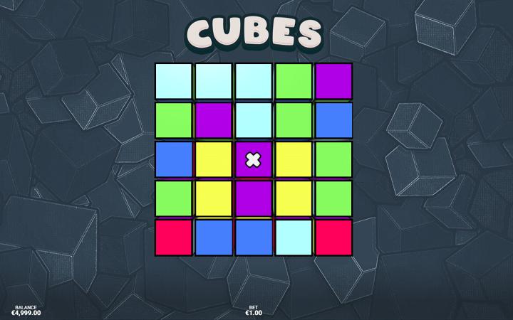 Mpangilio wa mchemraba wa Cubes