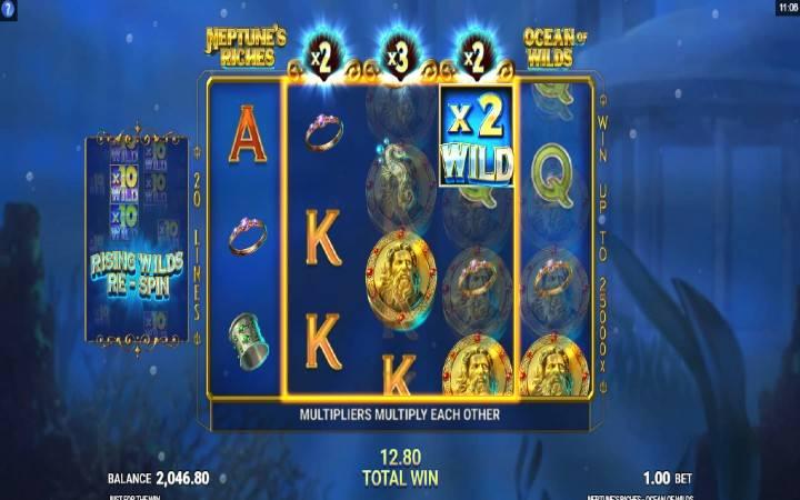 Jokeri - Neptunes Riches Ocean of Wilds