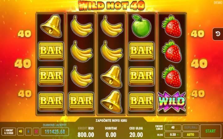 Wild Hot 40