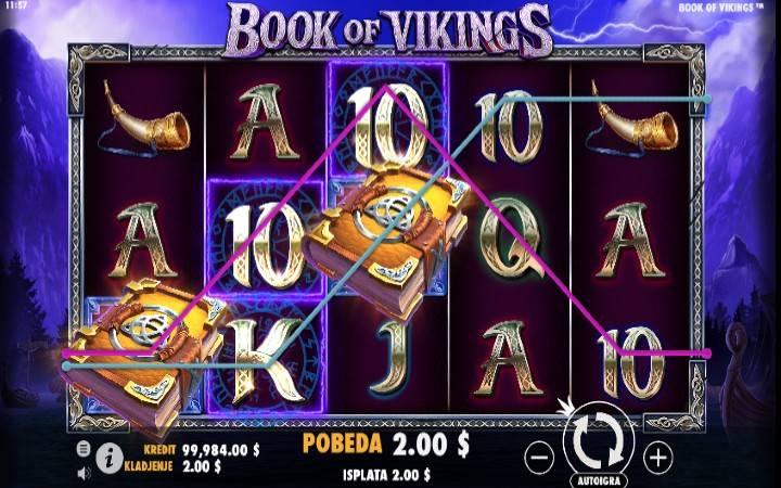 Book of Vikings - kitabu kama jokeri