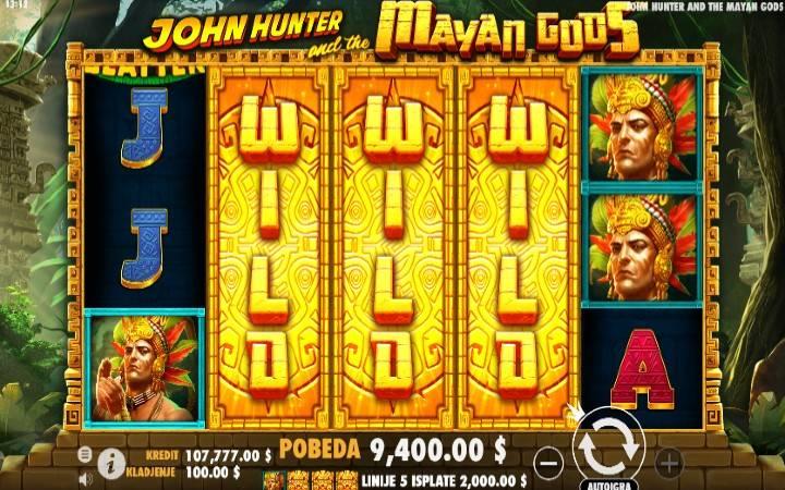 John Hunter and the Mayan Gods - jokeri