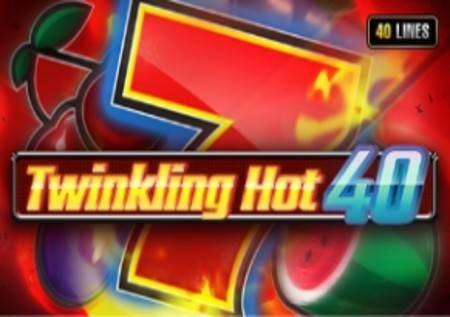 Twinkling Hot 40 – tunda la kasino likiwa na mwanga unaoshangaza