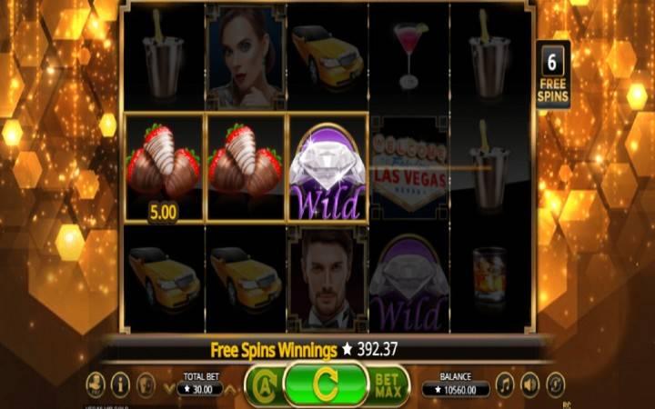 Vegas VIP Gold - jokeri