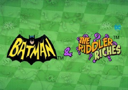 Batman and the Riddler Riches ni sloti ya kasino mtandaoni