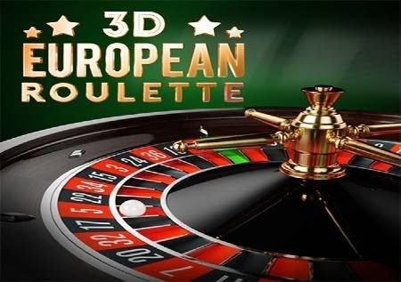 3D European Roulette – ruleti kwenye njia ya Ulaya