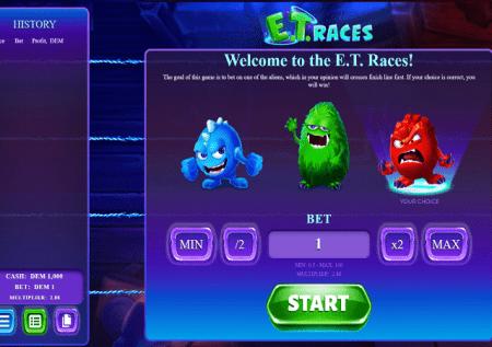 ET Races – mvuto wa mbio unaleta bonasi za kasino!