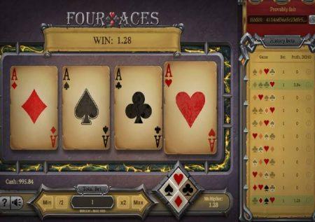 Four Aces – kisia ambapo nipo na ushinde ushindi mkubwa