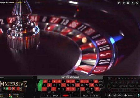 Immersive Roulette – gemu yenye ubora sana ya moja kwa moja hewani!