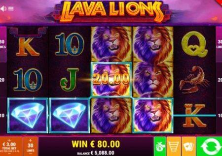 Lava Lions – mlipuko wa bonasi kubwa za kasino