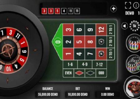 Mini Power Roulette inaleta raha kubwa ya kasino