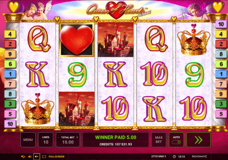 Queen of Hearts Deluxe – utamu wa kasino tamu!