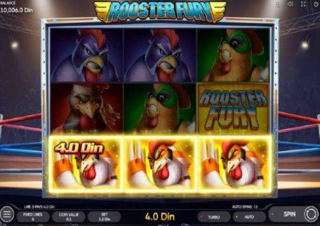 Rooster Fury – mshindi wa mapigano anafuatiwa na bonasi kubwa
