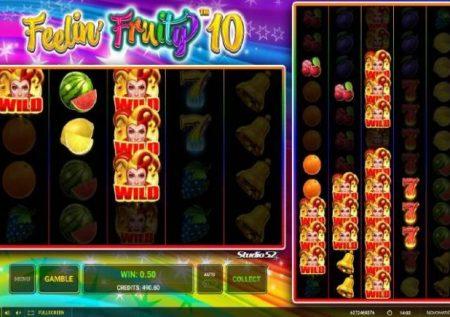 Feelin Fruity 10 – sherehe ya kupendeza ya kasino