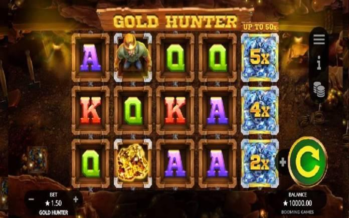 Video ya sloti ya Gold Hunter