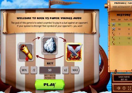 Rock Paper Scissors – gemu maarufu kwenye njia ya Viking