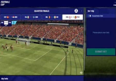 Virtual Football Cup – muunganiko sahihi wa mpira na kasino za mtandaoni