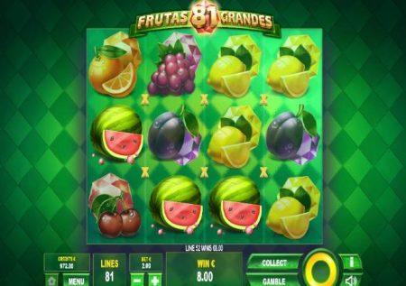 81 Frutas Grandes – miti ya matunda matamu na jokeri wakubwa