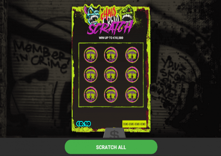 Chaos Crew Scratch – mchezo wa kasino ya mjini!