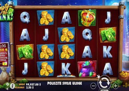 Empty the Bank – uvamizi ambao unaleta bonasi za kasino