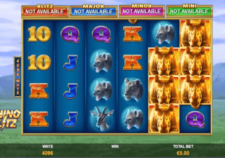 Jackpot Blitz Rhino Blitz – raha kubwa ya kasino!