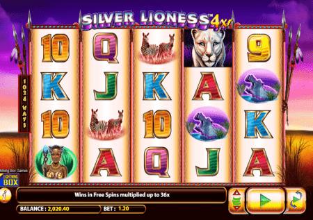 Silver Lioness 4x – gundua uzuri wa bonasi za Afrika!