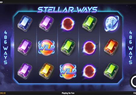 Stellar Ways – bonasi za kipekee kwenye sloti kubwa sana!