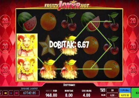 Fruity Joker Hot – sherehe ya matunda kwenye sloti ya mtandaoni