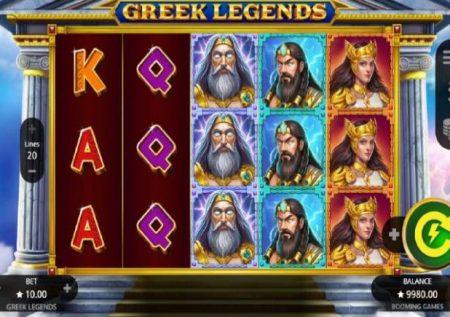 Greek Legends – raha kubwa sana ya kasino mtandaoni