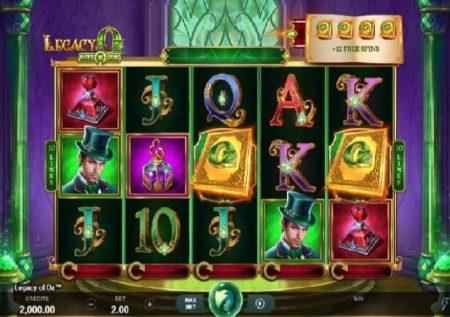 Legacy of Oz – gemu ya kasino ya dunia ya uchawi
