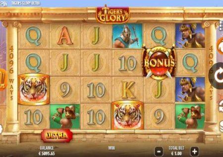 Tiger's Glory Ultra – muendelezo wa mapigano ya bonasi za kasino