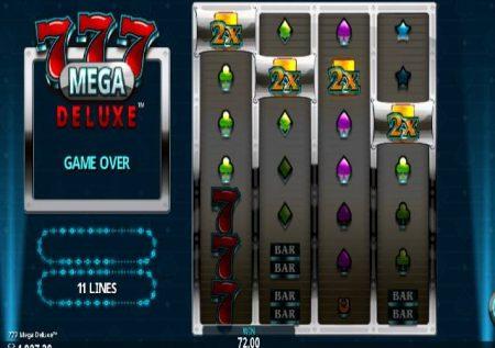 777 Mega Deluxe – raha ya kasino ikiwa na vizidisho