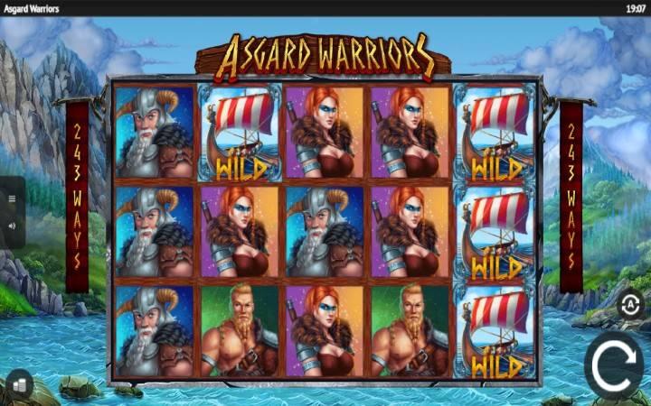 Warrior Spin Bonus