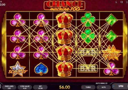 Chance Machine 100 – sherehe bomba sana ya kasino
