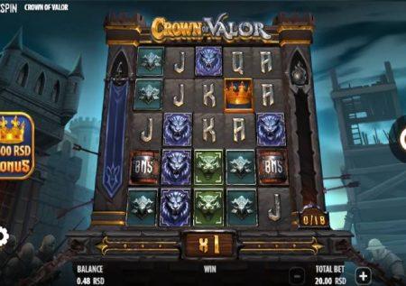 Crown of Valor – sloti ya mtandaoni ya jokeri wa moto wenye bonasi!