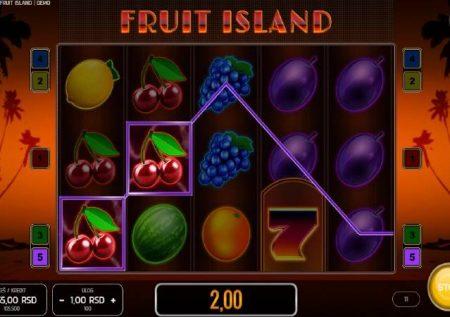 Fruit Island – sherehe ya kasino kwenye kisiwa cha kitropiki