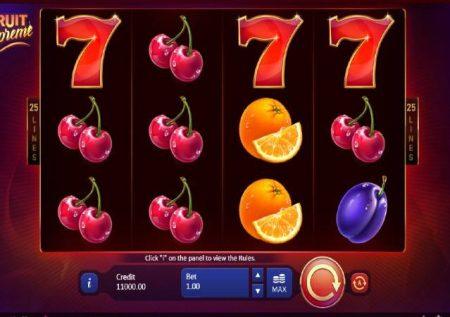 Fruit Supreme 25 Lines – sloti ya mtandaoni yenye ubora sana