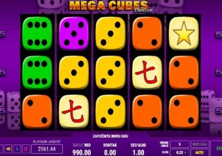 Mega Cubes Deluxe – raha ukiwa na dice kubwa sana