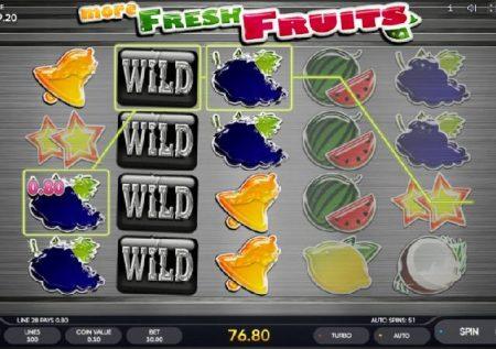 More Fresh Fruits – dozi ya ziada ya kiburudisho cha tunda