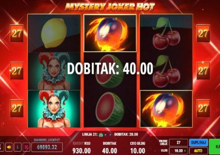 Mystery Joker Hot – raha ya kasino isiyopimika