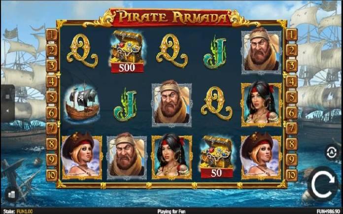 Tawanya alama kwenye sloti ya Pirate Armada