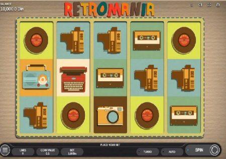 Retromania – gemu ya kasino mtandaoni inakurudisha enzi za nyuma!
