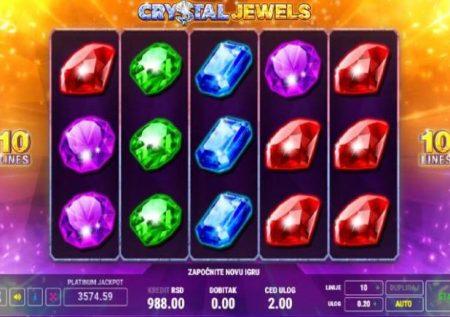 Crystal Jewels – sherehe ya kasino ikiwa na vito visivyozuilika