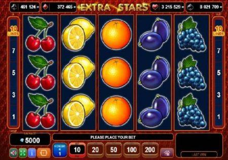 Extra Stars – sloti ya ushindi wa aina yake wa kasino