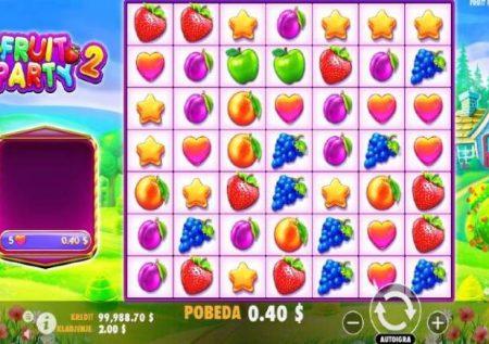 Fruit Party 2 – muendelezo wa sherehe ya matunda ya kasino