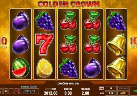 Golden Crown – taji linaleta raha ya kifalme