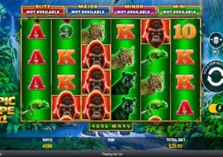 Jackpot Blitz Epic Ape 2 – sherehe ya bonasi ya kasino