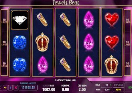 Jewels Beat – sloti inayopendeza sana ikiwa na jakpoti tatu