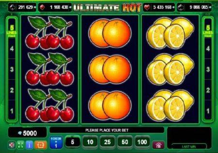 Ultimate Hot – sloti ya kasino yenye miti ya matunda yenye nguvu sana!