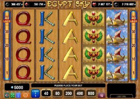 Egypt Sky – gemu ya kasino yenye mada ya Misri!