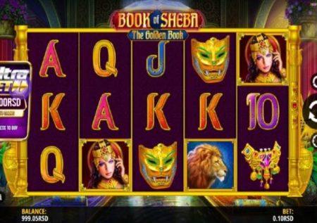 Book of Sheba – gemu ya kasino ikiwa na bonasi kubwa sana